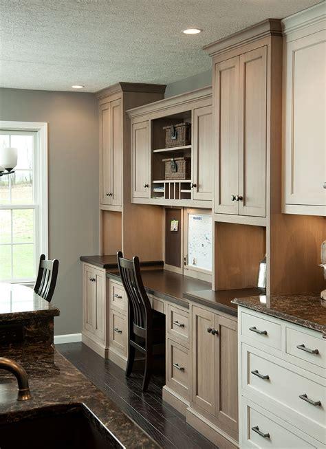 kitchen cabinets desk workspace mullet cabinet a s command center 6015
