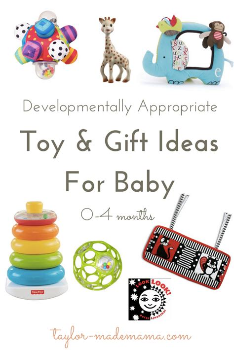 Toy & Gift Ideas For Baby  Taylormade Mama