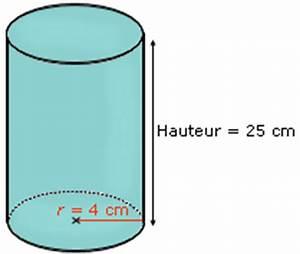 Calcul Volume Litre : cours de maths cylindres de r volution ~ Melissatoandfro.com Idées de Décoration