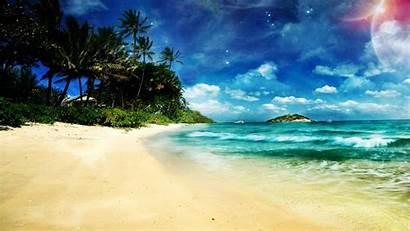 Beach Desktop Tablet Sunny Mobile
