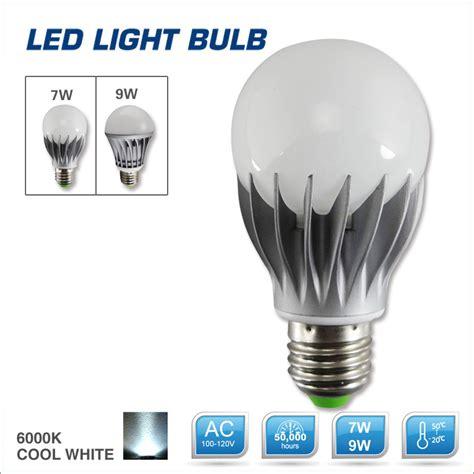 7w 9w 110v energy saving led light bulb 3000k warm white