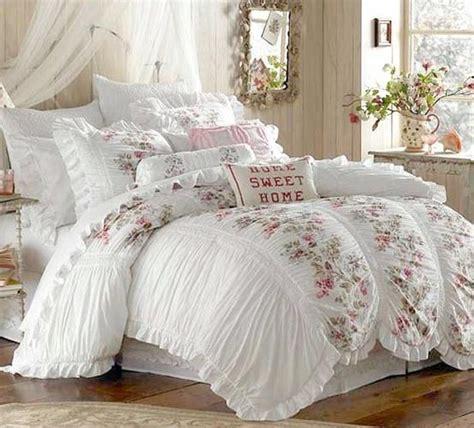 shabby chic winter bedding shabby chic ruffled comforter shabby boho vintage iv pinterest