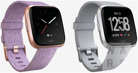 leaked of fitbit s next smartwatch hit the web techspot