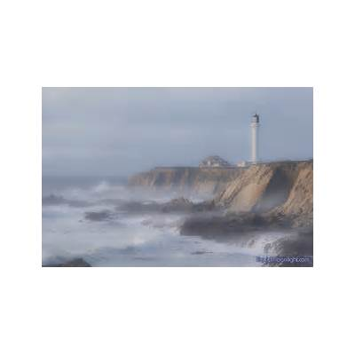 Misty Afternoon at the Lighthouse - Point Arena