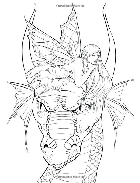 Gothic Fairy Coloring Pages Printable at GetDrawings