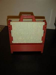 vintage fisher price school days 1972 desk magnetic With fisher price school days desk magnetic letters