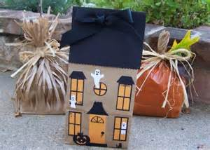 preschool crafts for paper bag haunted house craft