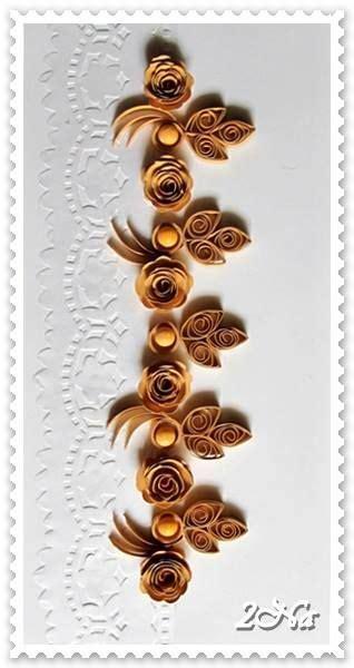 vertical flower quilling brownbronze  images