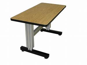 Manual Adjustable Height Desk