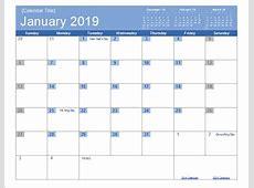 January 2019 Holiday South Africa Calendar January 2019