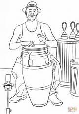 Conga Colorear Tocando Trommler Drummer Coloring Dibujo Drums Zum Dibujos Playing Instruments Ausmalbild Ausmalbilder Ausmalen Musical Kostenlos Musiknoten Muzyka Kategorien sketch template