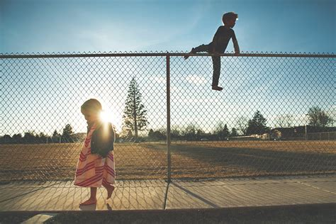 Can Your Child Climb Your Home's Fence?  Marketing Visible