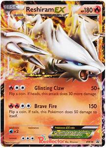 Reshiram EX - Black & White Promos #36 Pokemon Card