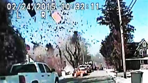 jersey gas explosion blows house  pieces video abc
