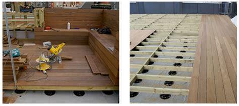 td support pedestals  timber decking wallbarn
