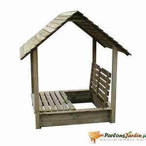 Bac à Sable Bois : bac sable carr en bois youpi ~ Premium-room.com Idées de Décoration