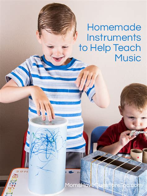 toddler  activity homemade instruments moms