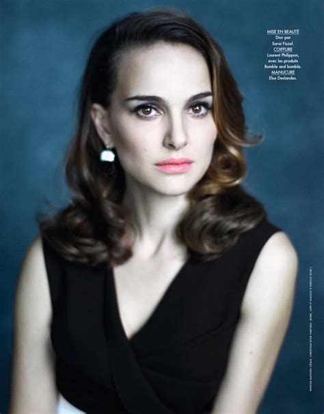 Natalie Portman For Elle France Sidewalk Hustle