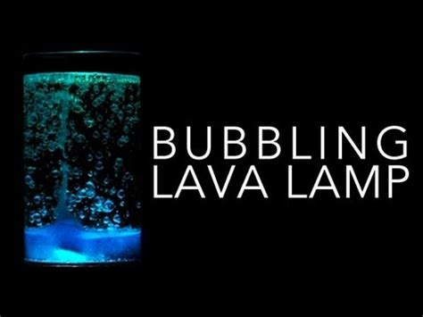 Ingredients For A Lava Lamp by Bubbling Lava Lamp Sick Science 081 Youtube