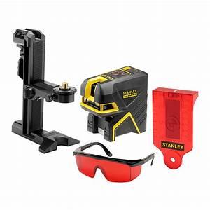 Niveau Laser Plaquiste : niveau laser croix 2 points scp2 rouge stanley ~ Premium-room.com Idées de Décoration