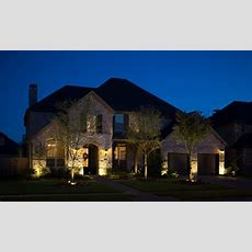Residential Exterior Lighting Services  Houston Tx