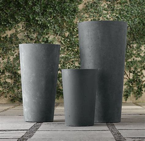 Weathered Cast Planters by Weathered Cast Planters Family Room