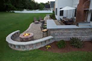 concrete patio designs with pit outstanding backyard patio designs with pit
