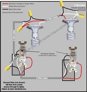 A 3 Way Switch Wiring Diagram For Hubbell