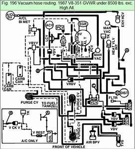 1985 Ford Bronco Vacuum Diagram  U2022 Wiring Diagram For Free
