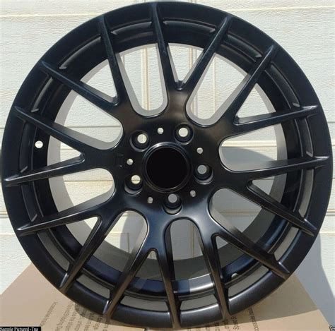 Bmw Rims by 4 New 19 Quot Wheels Rims For Bmw Black Csl 1 3 5 Series E90