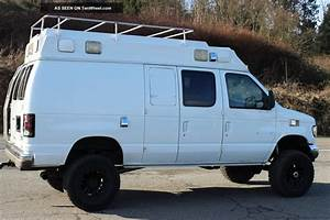 1995 Ford E350 7  3 Powerstroke Turbo Diesel 4x4 Van