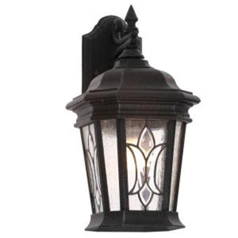 progress lighting cranbrook collection 1 light gilded iron wall lantern p5659 71 the home depot