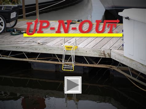 Ultimate Boat Ladder by Up N Out Ultimate Marine Ladders
