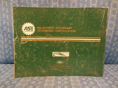 old car owners manuals 1993 mercury sable electronic valve timing 1993 ford taurus mercury sable oem electrical vacuum troubleshooting manual nos texas parts