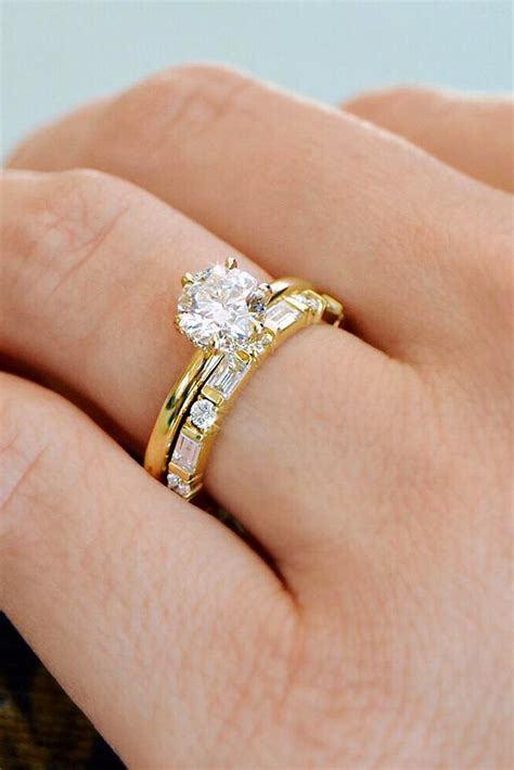27 the best yellow gold engagement rings from pinterest oh so
