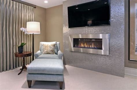 34 Modern Fireplace Designs With Glass For The. Exposed Brick Wall. Contemporary Crown Molding. Blue Eyes Granite. Antique Desk. Pool Fence Ideas. Framed Mirrors. Cesarstone. Suzani Pillows