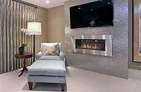 modern fireplace design 34 Modern Fireplace Designs With Glass For The Contemporary Home