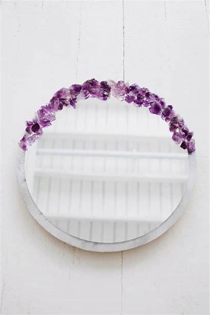 Mirror Crystal Designlovefest Amethyst Diy Mother Gifts