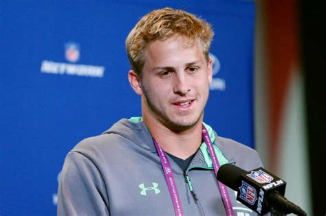 qb prospect jared goff  concerned  small hands