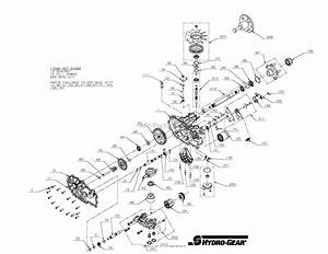Gravely 04827700 - 3100 Series Parts Diagram For Transmission  Lh