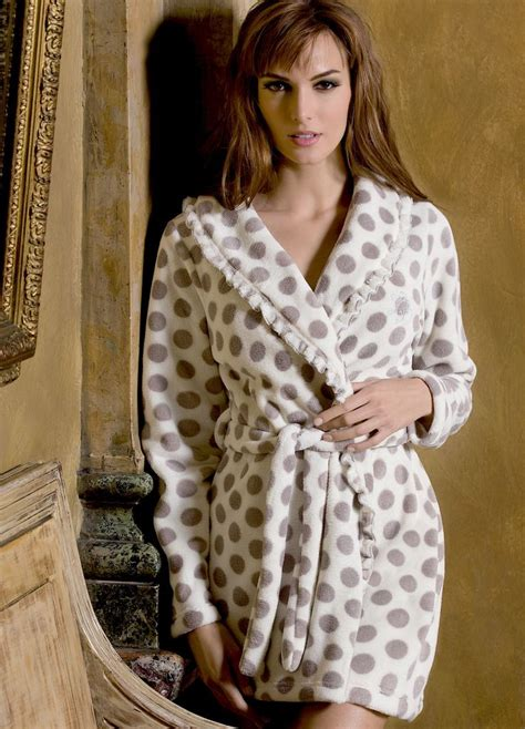 robe de chambre l馮鑽e femme robe de chambre polaire biagiotti 2015 col chale