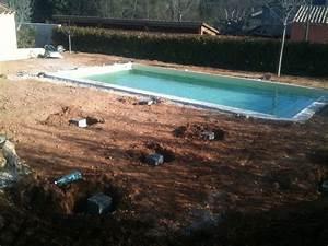 piscine aix en provence plage en bois sans margelles With plage piscine sans margelle