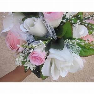 Bouquet De La Mariée : bouquet mari e rond jardin des roses avec perles rubans ~ Melissatoandfro.com Idées de Décoration