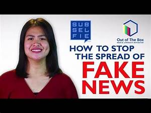 How to Stop the Spread of Fake News - YouTube