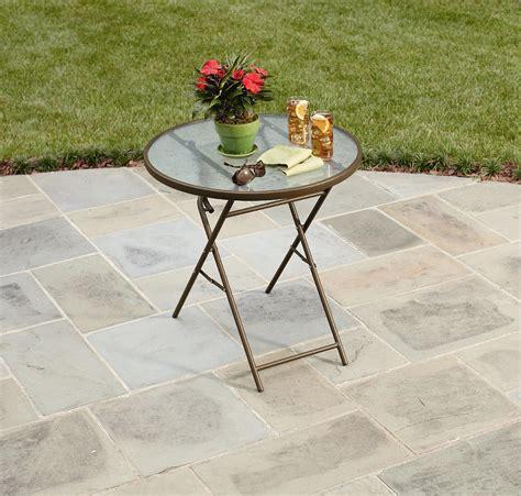 garden oasis 28 quot folding table outdoor living