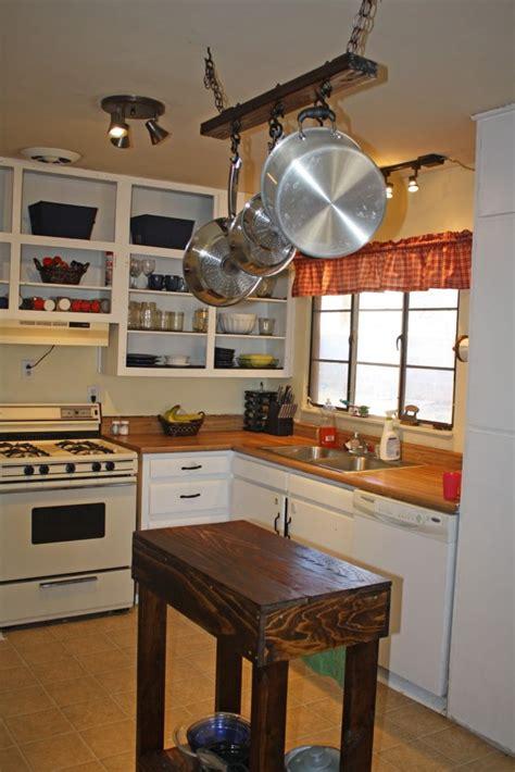rustic diy kitchen island ideas