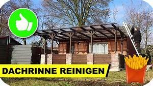 Dachrinne Reinigen Werkzeug : dachrinne reinigen im garten youtube ~ Whattoseeinmadrid.com Haus und Dekorationen