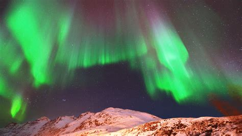 best times to see the northern lights the map travel