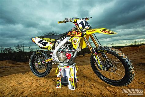 used motocross we ride davi millsaps never used suzuki rm z450 motocross
