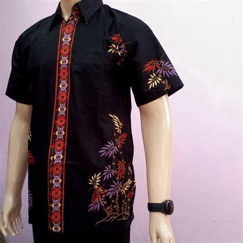 model baju batik pria desain terbaru  bagus resep